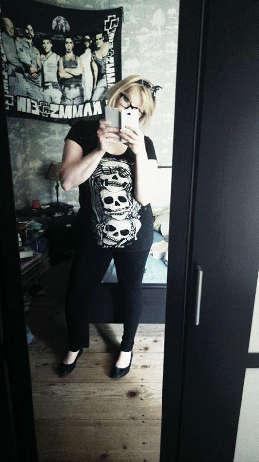 "Tee-shirt Rock Punk Gothique Jawbreaker ""3 Skulls"""