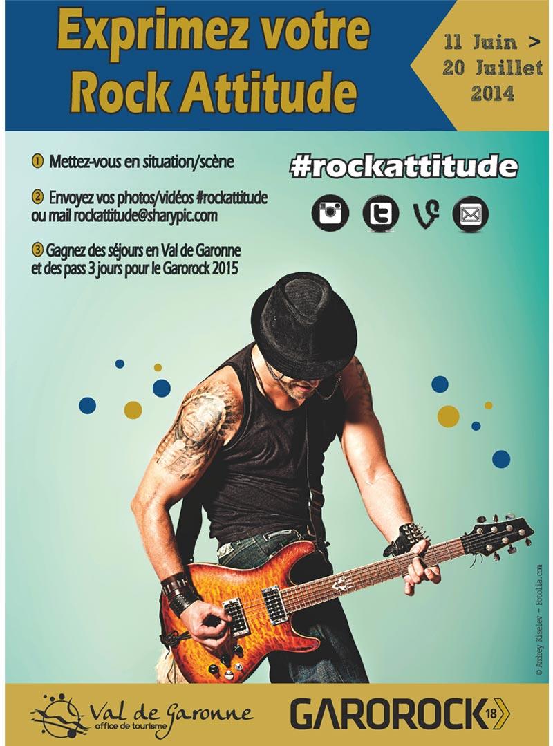 Exprimez votre rock attitude !