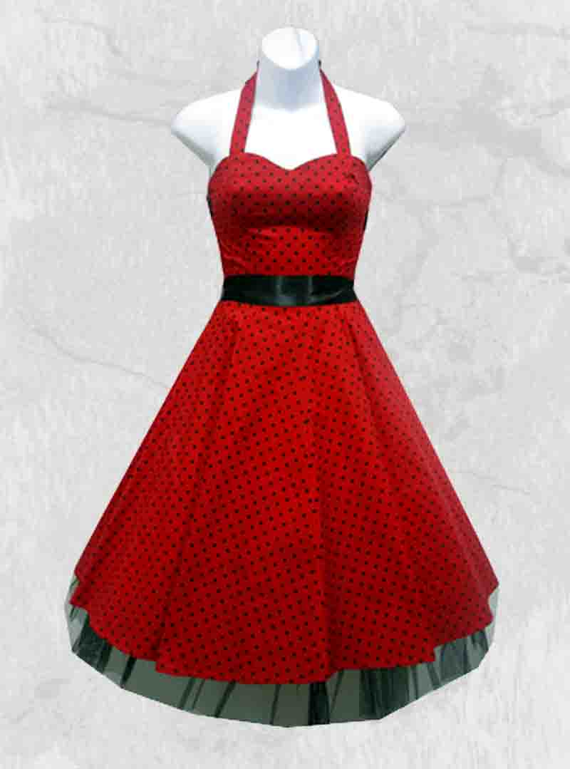 Robe rockabilly vintage HR London